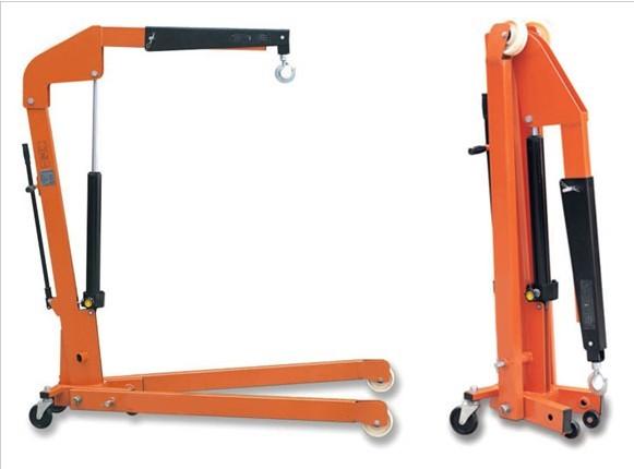 欧式可折叠重型单臂吊