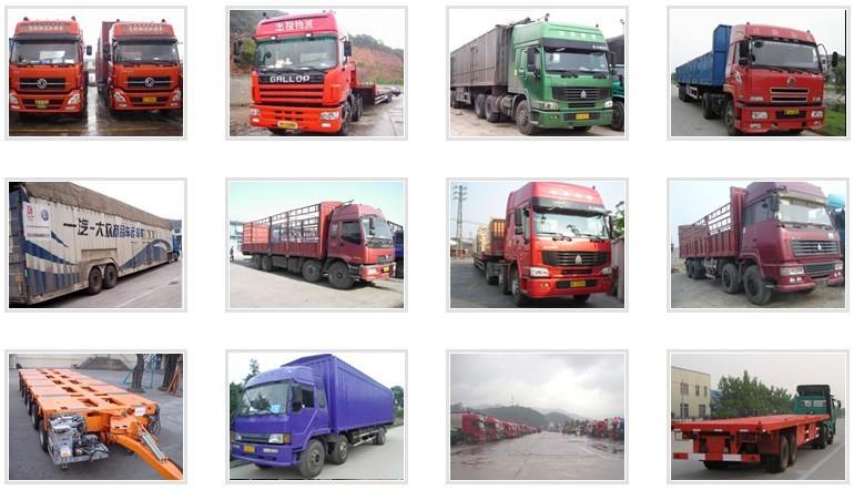 承接衢州地区到安微地区全境整车零担及大件货物运输