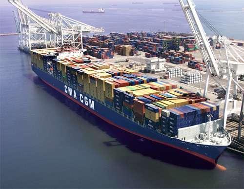 天津港到美国洛杉矶、奥克兰、休斯顿海运拼箱散货