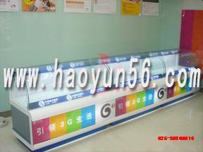 南京玻璃柜台木制柜台展示柜烤漆柜台高背X架地堆