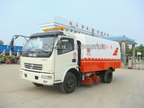 湖北程力扫路车厂家直销东风多利卡机扫车