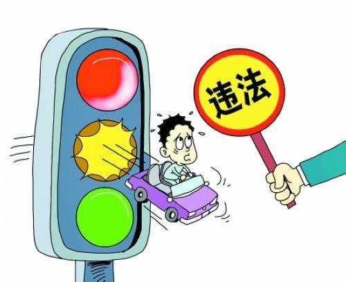 交通违章罚款