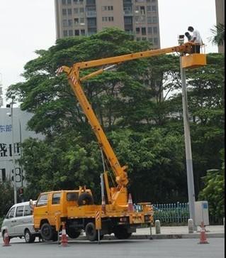 路灯维修安装车找祥顺 租赁热线:15626198916
