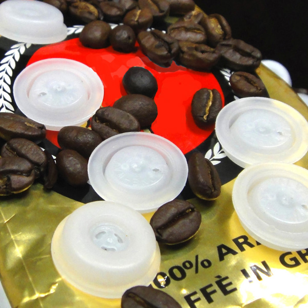 华众 专业生产 优质咖啡铝箔袋 单向排气阀 V1型