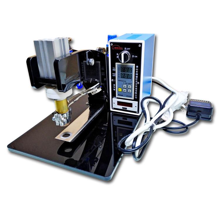 华众升级版压阀机 单一PE材料专用单向排气阀热压机-JP2型