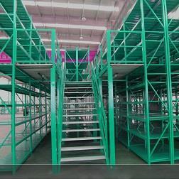 东莞批发仓储重型阁楼货架免费上门测绘安装