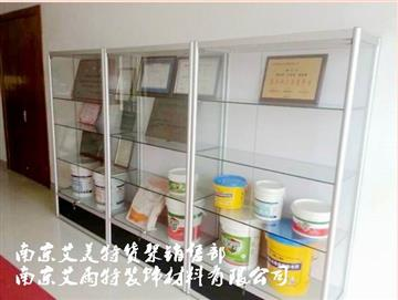 南京玻璃货架