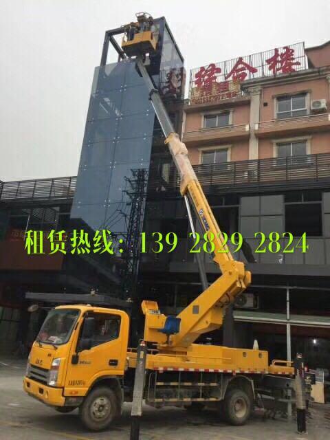 江门台山路灯升降车租赁电话 24小时服务热线电话 13250