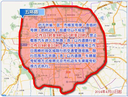 北京限限牌规定-北京车辆车牌尾号限询