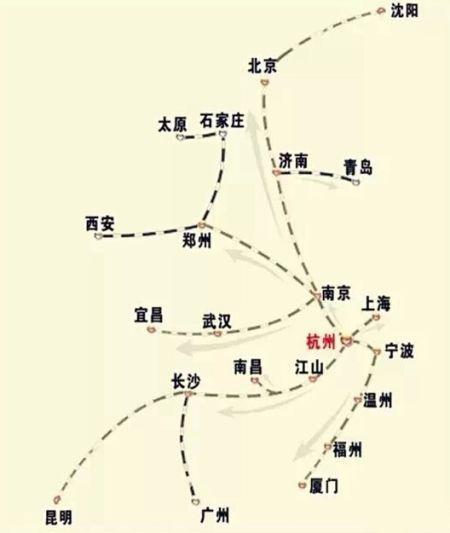 杭州出发高铁旅游线路全攻略-史上最全
