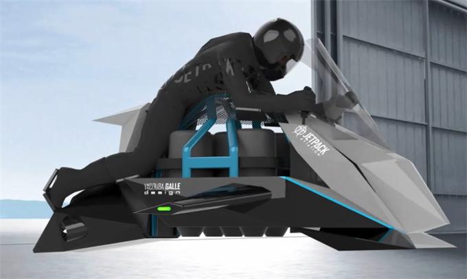 这家初创企业要造时速600公里的飞行摩托车 比007座驾还要炫酷