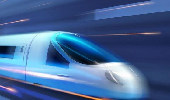国版超级高铁!成都迎来全球首条高温超导高速磁浮工程化样车